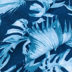 Маломеры интерлок пенье Монстера мятная R-R6058-V1 0.5 м фото