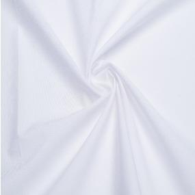 Перкаль гладкокрашеный 150 см цвет белый фото
