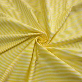 Мерный лоскут на отрез бязь плательная 150 см 1663/8 цвет желтый от 1 м фото