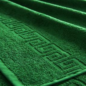 Полотенце махровое Туркменистан 40/65 см цвет Зеленый фото