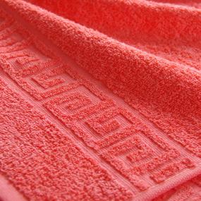 Полотенце махровое Туркменистан 40/65 см цвет коралловый фото