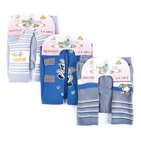 Детские колготки 628 HONGAN для мальчиков 0-6 месяцев фото