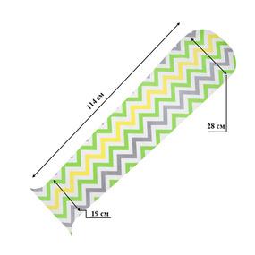 Набор отрезов ткани для пэчворк овал поплин 114 см 19/28 см в 6 шт №6 фото