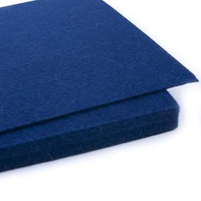 Фетр листовой мягкий IDEAL 1мм 20х30см арт.FLT-S1 цв.673 т.синий фото