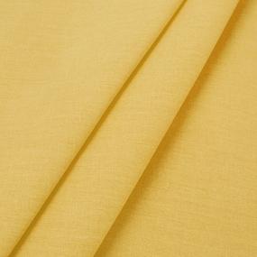 Поплин гладкокрашеный 220 см 115 гр/м2 цвет горчица фото