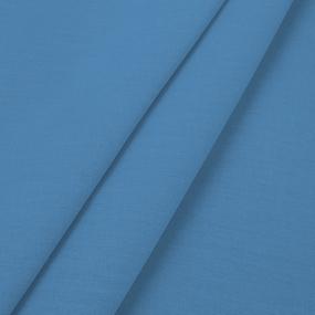 Поплин гладкокрашеный 220 см 115 гр/м2 цвет индиго фото