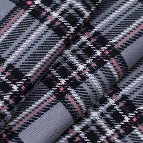 Ткань на отрез кулирка Клетка R5001-V5 цвет серый фото