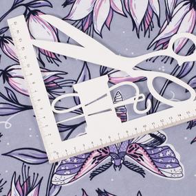 Ткань на отрез кулирка R4147-V5 цвет серый фото