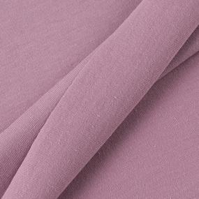 Ткань на отрез кулирка 8376 цвет сухая роза фото