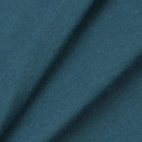Ткань на отрез кулирка 6718 цвет петроль фото