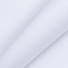 Ткань на отрез рибана с лайкрой М-2000 цвет белый фото