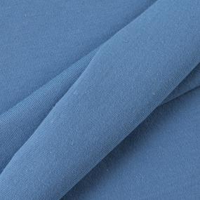 Ткань на отрез кулирка Optik 5590 цвет синий фото
