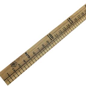 Метр портновский деревянный фото
