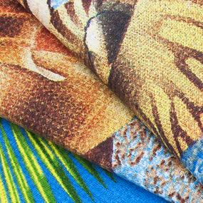 Полотенце вафельное пляжное 5478/1 150/75 см фото