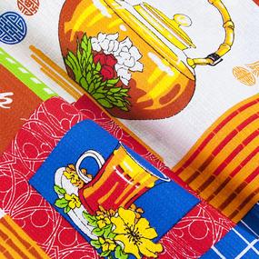Набор вафельных полотенец 3 шт 50/60 см 556/2 Чаепитие фото