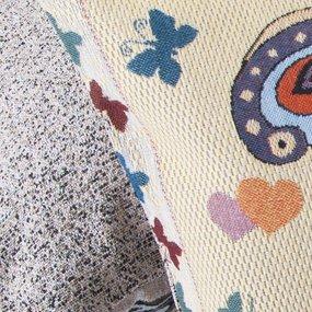 Наволочка гобелен декоративная 35/55 см Бабочка фото