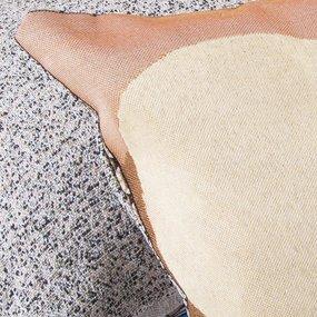 Наволочка гобелен декоративная 35/55 см Мордашки фото