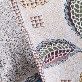 Наволочка гобелен декоративная 35/55 см Гибискус фото