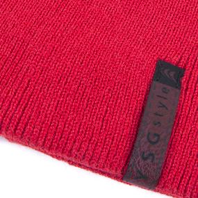 Шапка женская 2 цвет красный фото