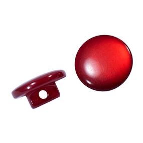 Пуговицы Т-18 11 мм цвет красный упаковка 12 шт фото