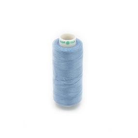 Нитки бытовые Dor Tak 40/2 366м 100% п/э, цв.381 голубой фото