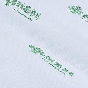 Полотенце вафельное отбеленное 200гр/м2 45/80 см с логотипом уценка фото