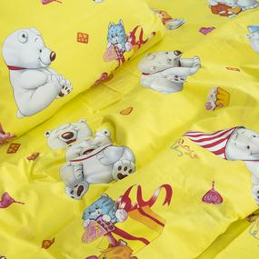 Детское постельное белье из поплина 1.5 сп 4662/1 День рождения фото