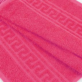Полотенце махровое 30/50 см цвет 930 фуксия фото