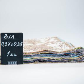 Весовой лоскут Бязь/Поплин о/м 0,27 / 0,35 м в ассортименте по 1 кг фото