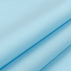 Сатин гладкокрашеный 096BGS голубой air jet фото