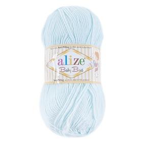 Пряжа для вязания Ализе BabyBest (90%акрил, 10%бамбук) 100гр цвет 514 мята фото