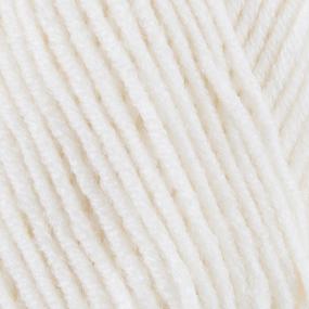Пряжа для вязания Ализе LanaGold (49%шерсть, 51%акрил) 100гр цвет 062 молочный фото