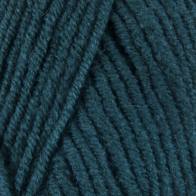 Пряжа для вязания Ализе LanaGold (49%шерсть, 51%акрил) 100гр цвет 426 петроль фото