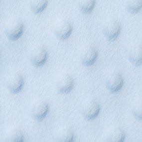 Плюш Минки Китай 180 см на отрез цвет голубой фото