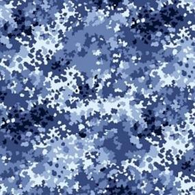 Ткань на отрез саржа цвет камуфляж 671-3п Излом фото