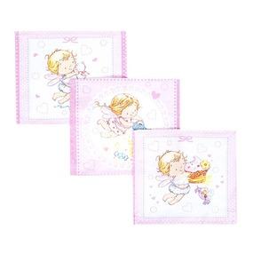 Платок носовой детский ситец 18900/1 10 шт розовый фото