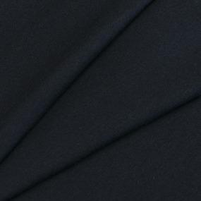 Ткань на отрез кулирка с лайкрой цвет черный фото