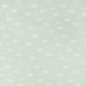 Ткань на отрез поплин детский 220 см 28320/1 Морской бой компаньон фото