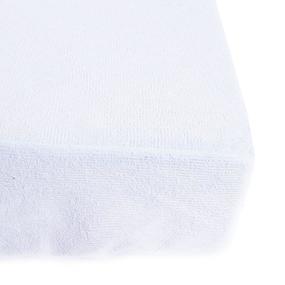 Наматрасник водонепроницаемый на резинке с бортом мулетон 70/200/25 фото