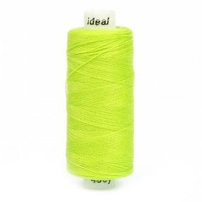 Нитки бытовые Ideal 40/2 100% п/э 427 зеленый фото