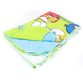 Покрывало ультрастеп двухстороннее Angry Birds HL3850 150/210 фото