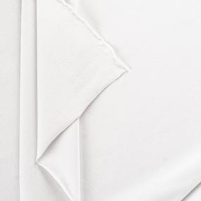 Мерный лоскут футер петля с лайкрой 9000 Optik White 1,3 м фото