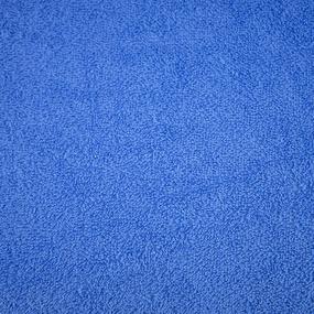 Ткань на отрез махровое полотно 150 см 350 гр/м2 цвет василек фото