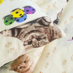 Детское постельное белье из бязи 1.5 сп 5002/1 Усатый полосатый фото