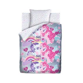 КПБ 1.5 хлопок My little Pony Neon (70х70) рис. 16029-1/16030-1 Подружки пони фото