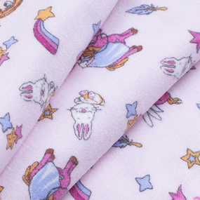 Ткань на отрез фланель грунт 150 см 21239/1 Принцесса цвет розовый фото