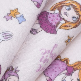 Ткань на отрез фланель грунт 150 см 21239/2 Принцесса цвет бежевый фото