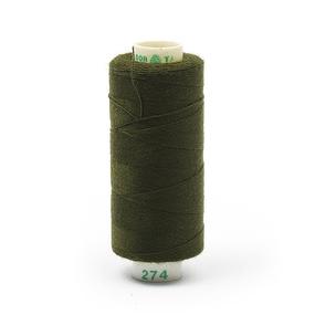 Нитки бытовые Dor Tak 40/2 366м 100% п/э, цв.274 зеленый фото