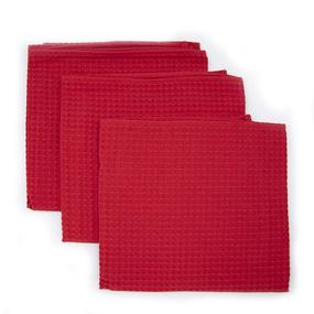 Набор вафельных полотенец Премиум 3 шт 45/70 см 043 фото