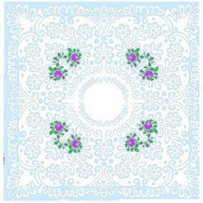 Платок носовой женский ситец Шуя 76391 10 шт фото